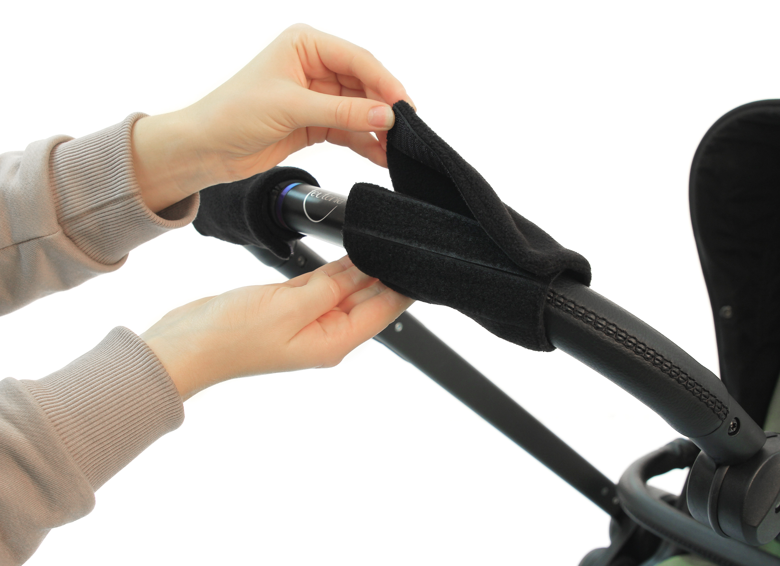Накладки на ручки для коляски своими руками 47